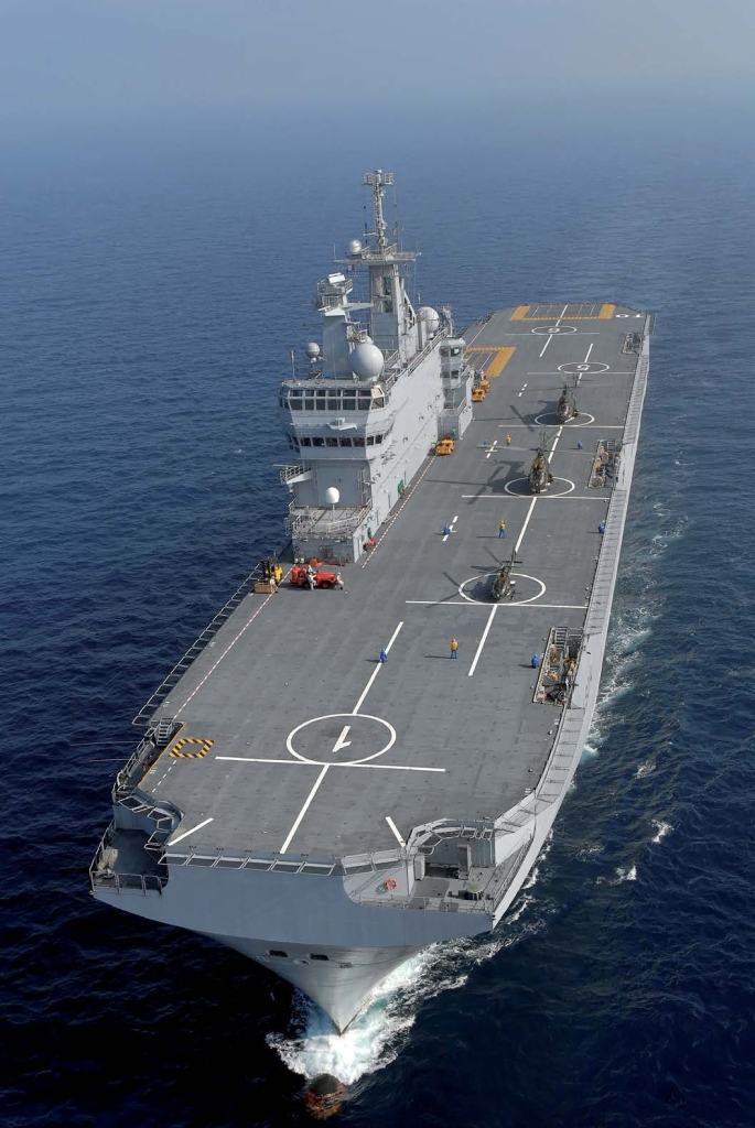 Its highly capable communication system makes it the ideal command ship within a naval force