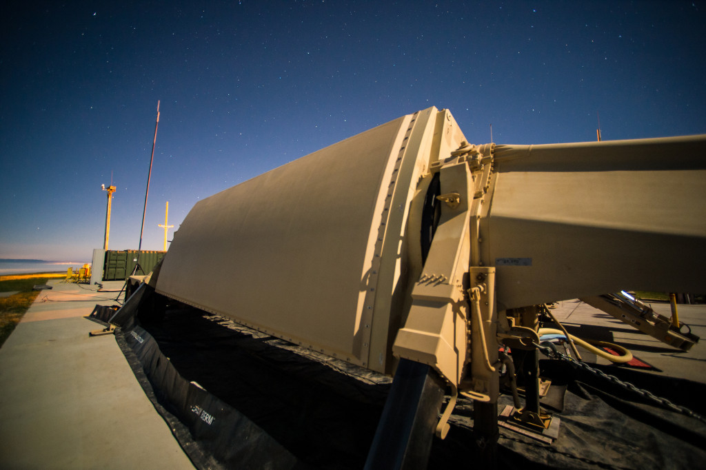 The high-resolution, X-band, phased-array radar can track all classes of ballistic missiles at various points in their trajectories
