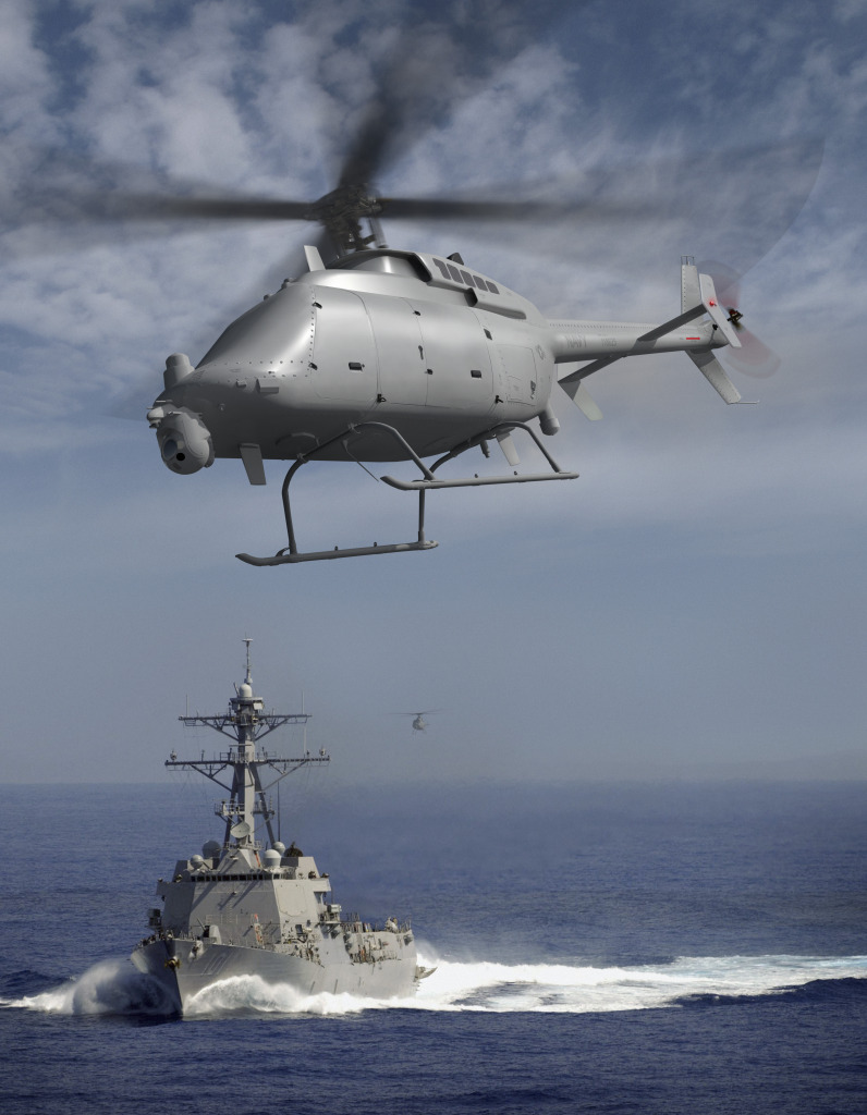 Artist conception of MQ-8C Fire Scout
