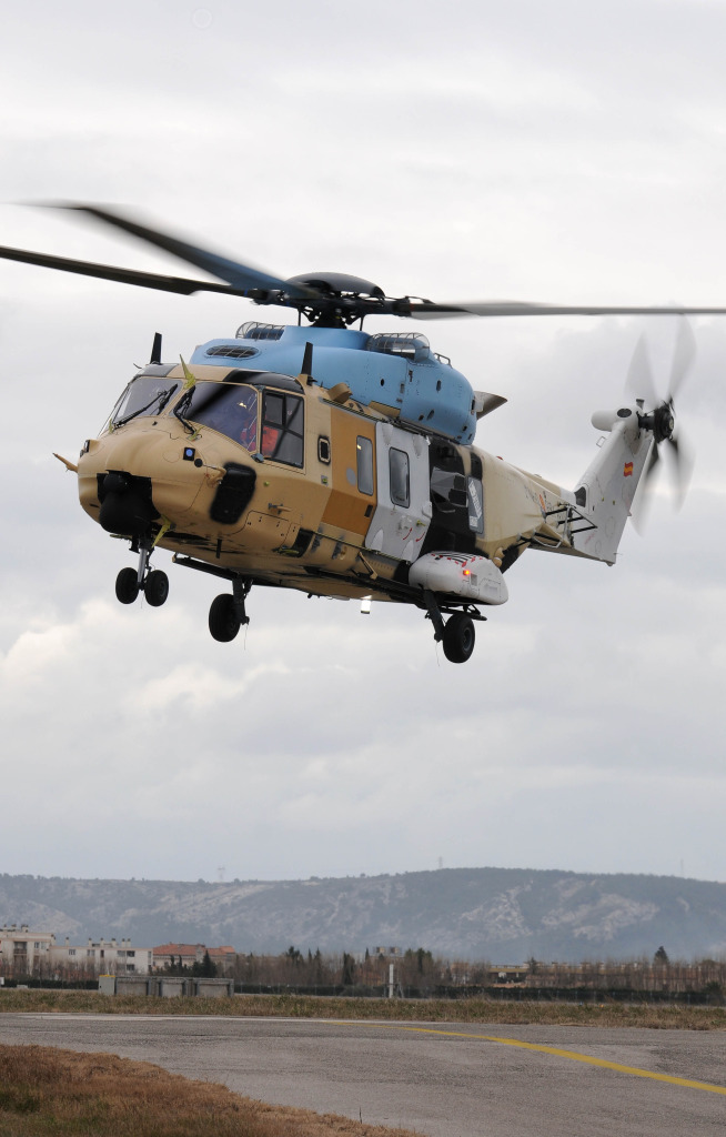 The Spanish version of the NH90 TTH