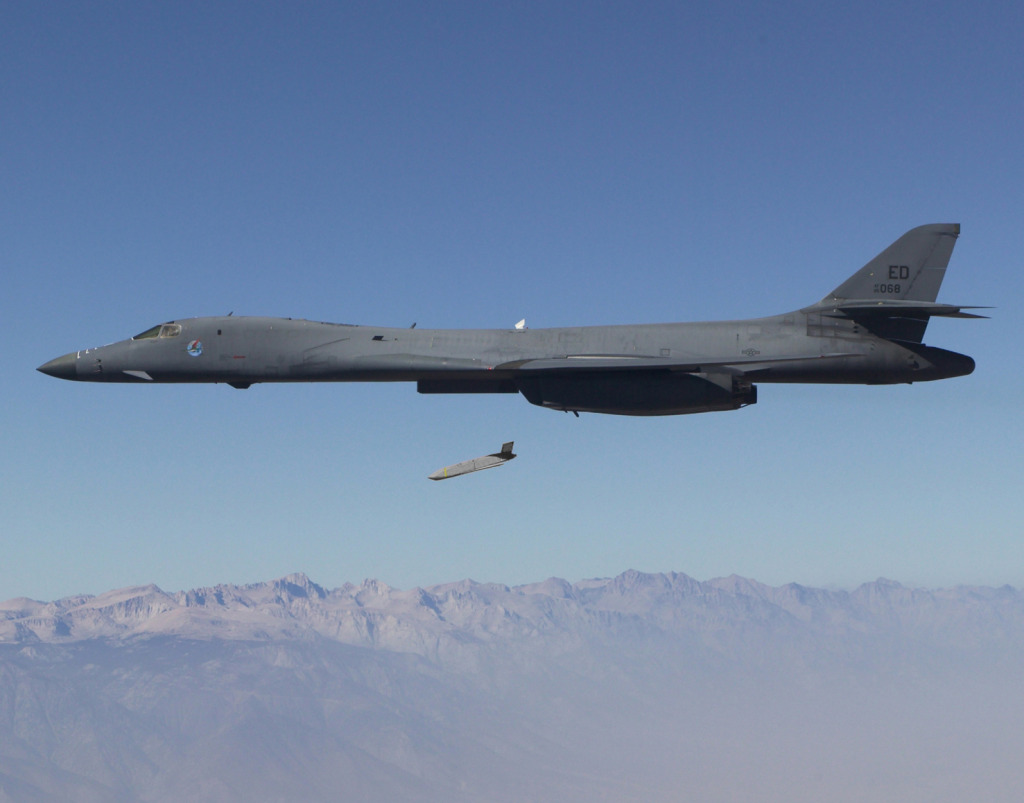 JASSM-ER is integrated on the U.S. Air Force's B-1B