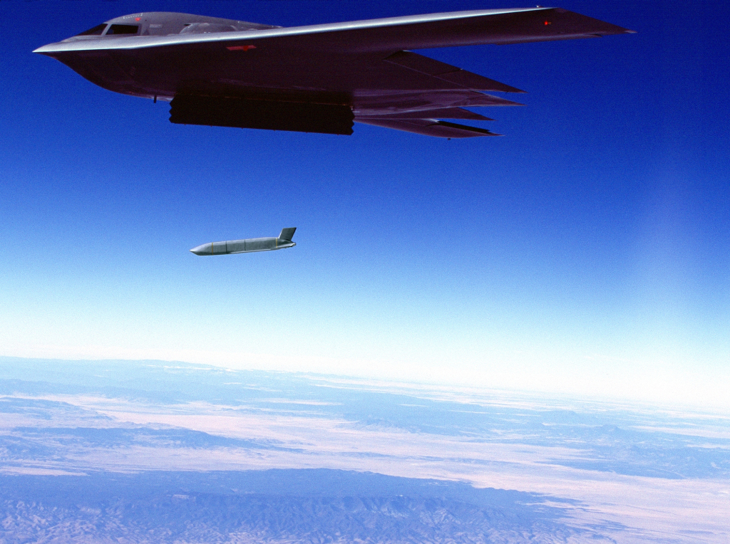 JASSM is integrated on the U.S. Air Force's B-2