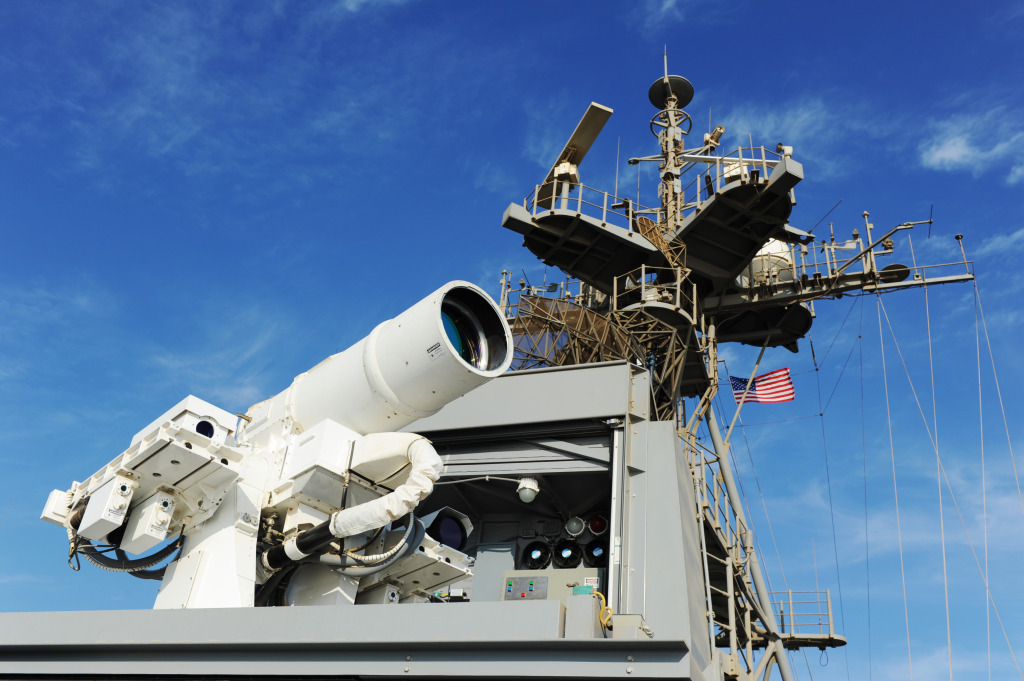 An operational demonstration of the Laser Weapon System