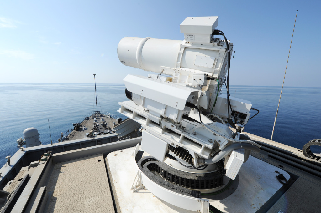 The Office of Naval Research sponsored Laser Weapon System