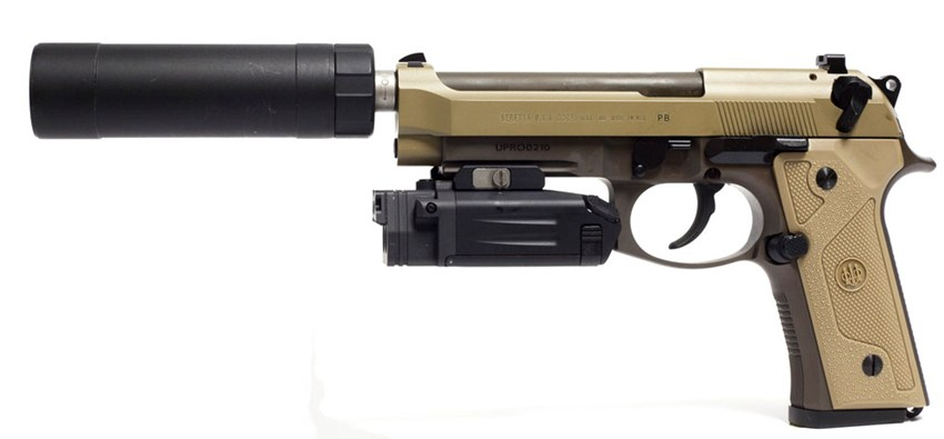M9A3 is compatible with numerous, already-in-service accessories