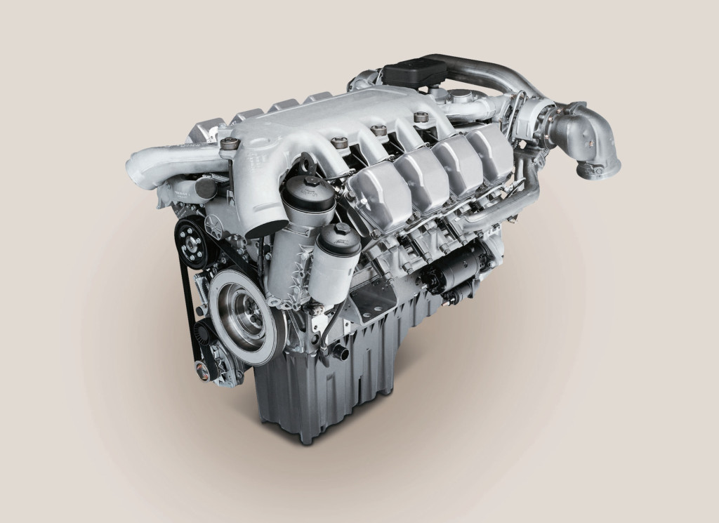 MTU MT 881 Ka-501 V8 Diesel engine