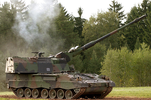 PzH 2000 155 mm self-propelled howitzer
