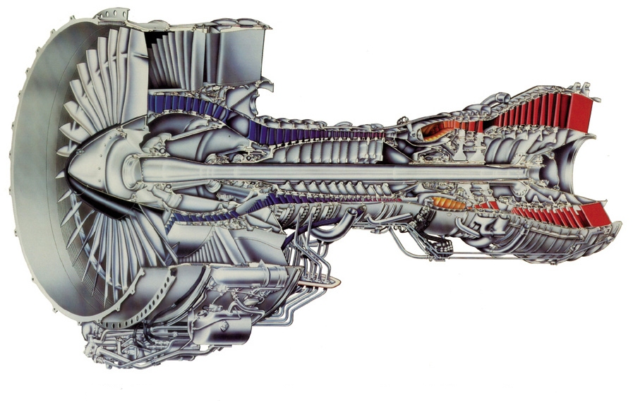 The F117-PW-100 engine is the military version of Pratt & Whitney's PW2040 commercial engine