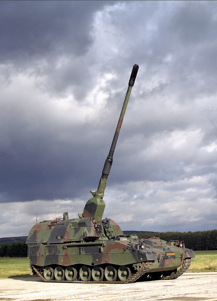 German Army PzH 2000 155 mm self-propelled howitzer