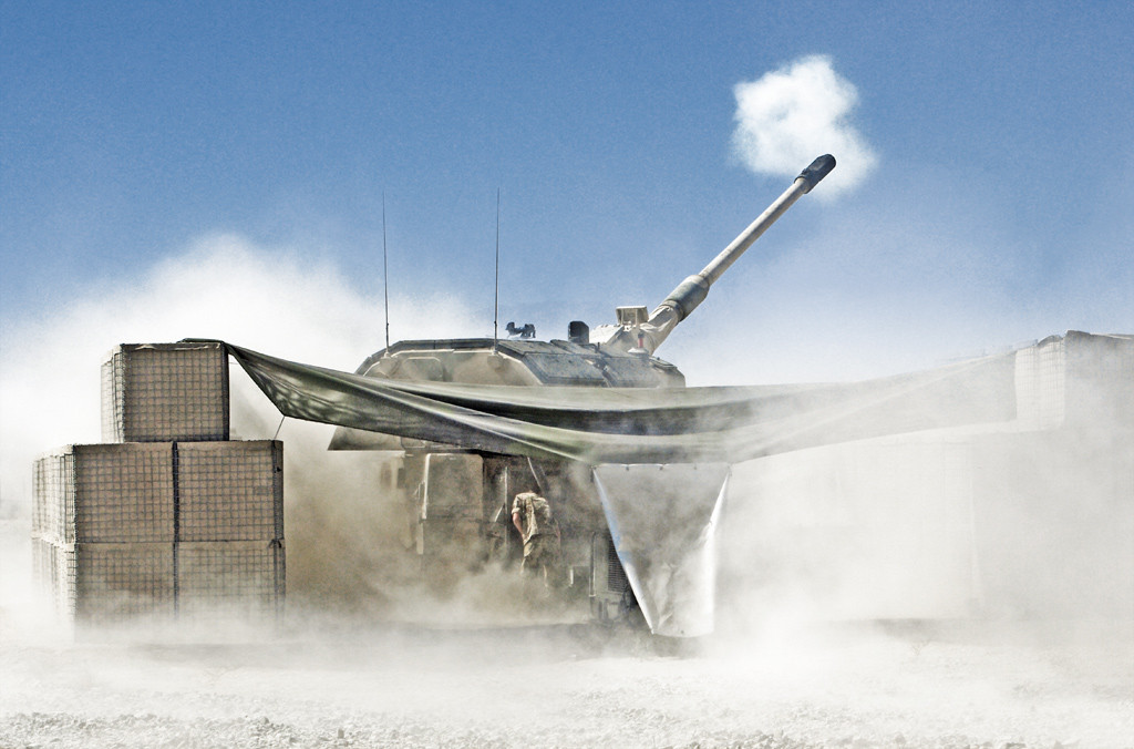 PzH 2000 developed by Krauss-Maffei Wegmann and Rheinmetall