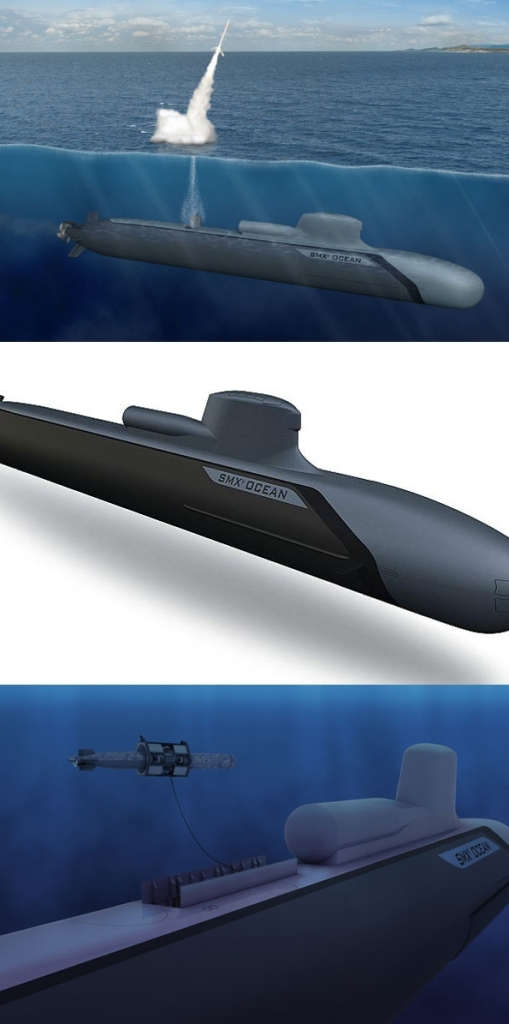 SMX-Océan conventionally powered attack submarine