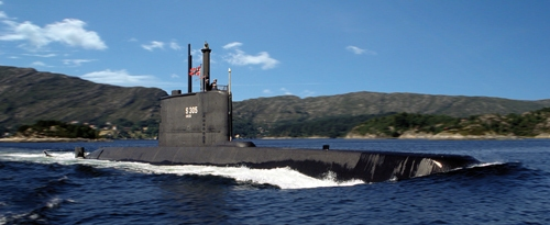 Diesel-electric submarine