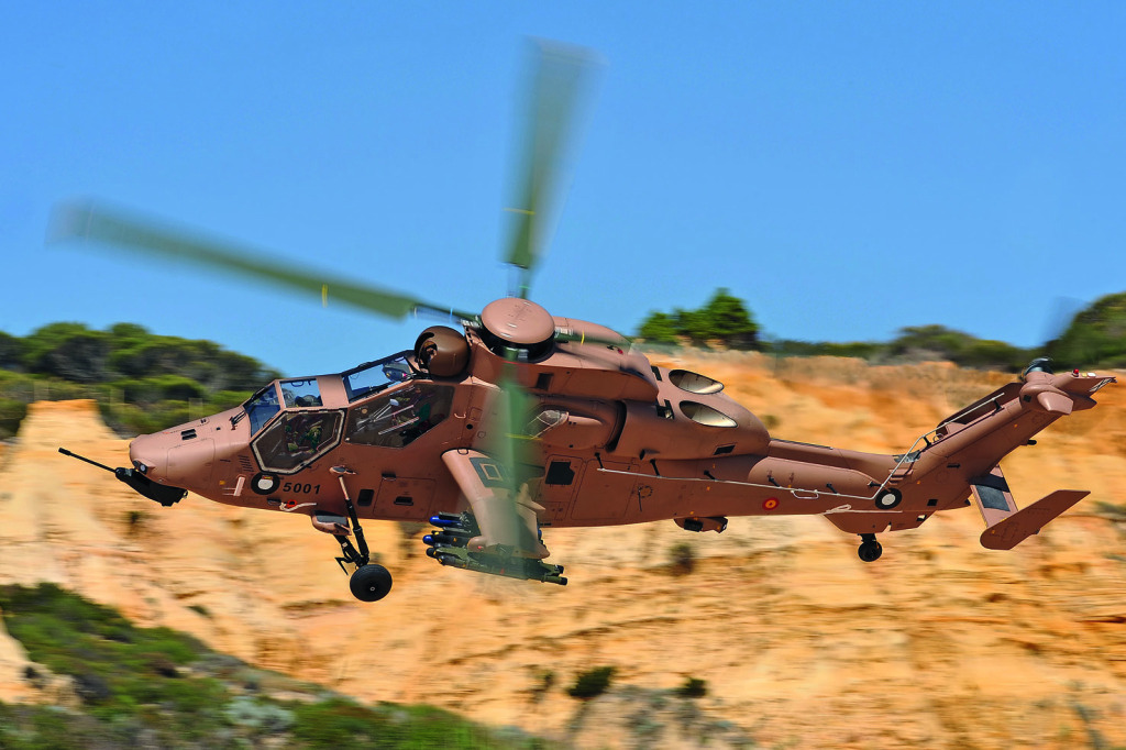 Tiger HAD-E version (Helicoptero de Apoyo y Destrucción, Support and Destruction Helicopter)