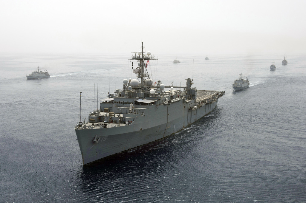 The Afloat Forward Staging Base (Interim) USS Ponce (ASB(I) 15)