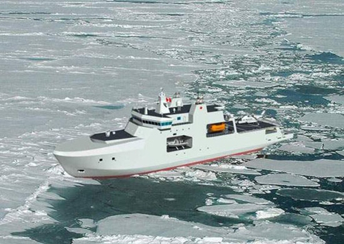 Designed to a Polar Class 5 international ice classification standard, which will allow for operations in first year ice up to one meter in thickness