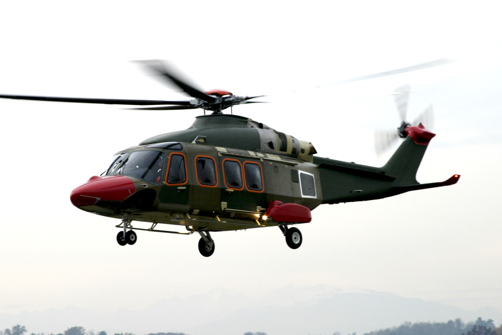 The AgustaWestland AW149 is a medium-lift military helicopter