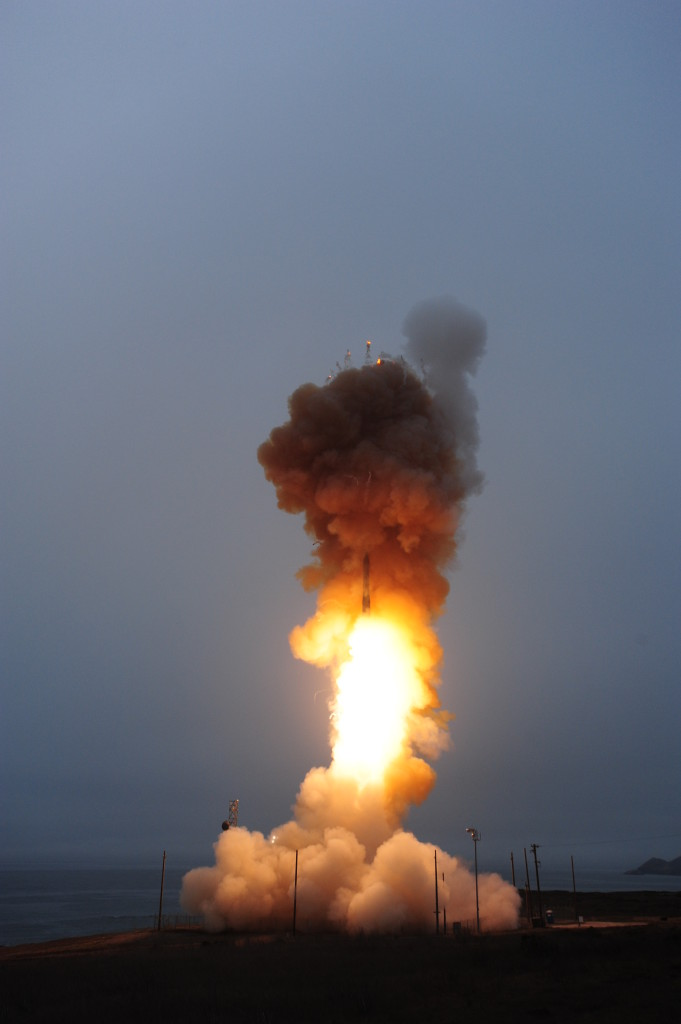 Boeing supported the launch of an unarmed Minuteman III intercontinental ballistic missile at Vandenberg Air Force Base on September 23, 2014