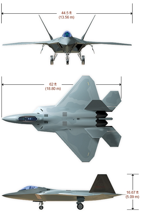 The aircraft was variously designated F-22 and F/A-22 prior to formally entering service in December 2005 as the F-22A