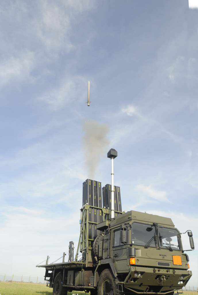During trials of the CAMM missile a truck based launcher was used capable of carrying 12 missiles - comparing favourably to the 8 missiles on a Rapier fire unit