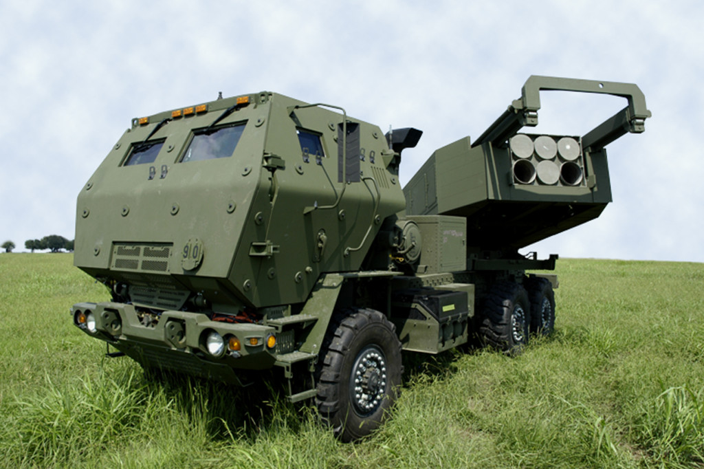High Mobility Artillery Rocket System is the newest member of the MLRS launcher family