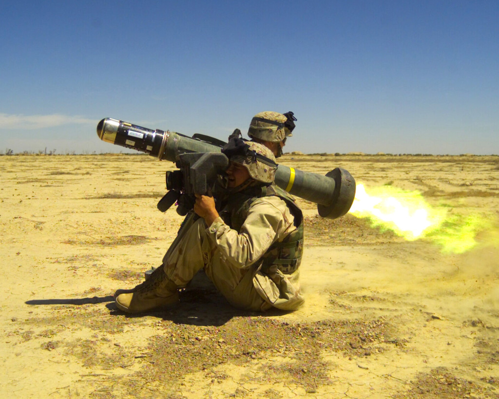 Javelin was developed and produced for the U.S. Army and Marine Corps by the Javelin Joint Venture between Lockheed Martin in Orlando, Florida and Raytheon in Tucson, Arizona
