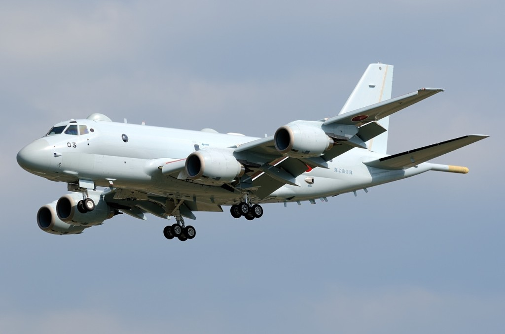 Kawasaki P-1 is equipped with a magnetic anomaly detector housed in its rear «sting», which the US Navy dropped from its Boeing P-8 for cost reasons and which is of huge importance for anti-submarine missions