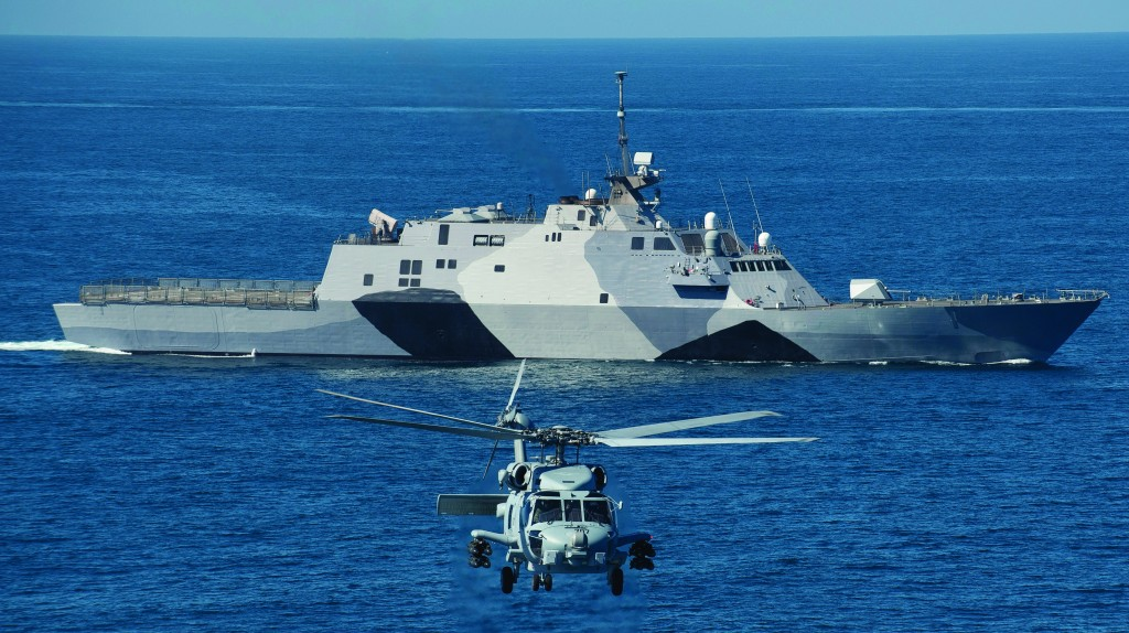 As the U.S. Navy faces retirement of three important ship classes soon, the Freedom-class littoral combat ship is helping to fill that gap affordably with one flexible, technologically advanced ship suited for multiple missions. Photo: US Navy