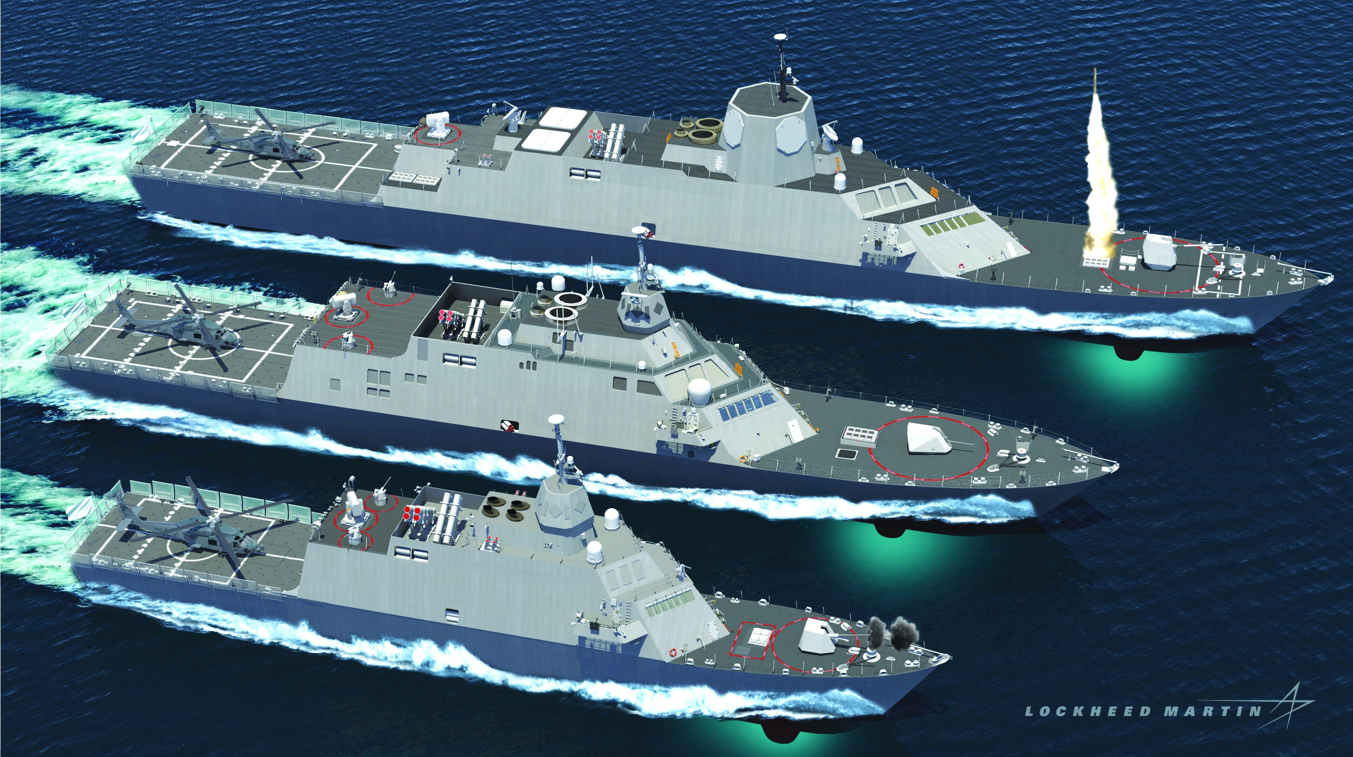 Small Surface Combatant Modern Weapons