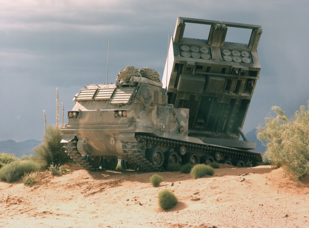 MLRS was very successful in Operation Desert Storm (Photo by Lockheed Martin)