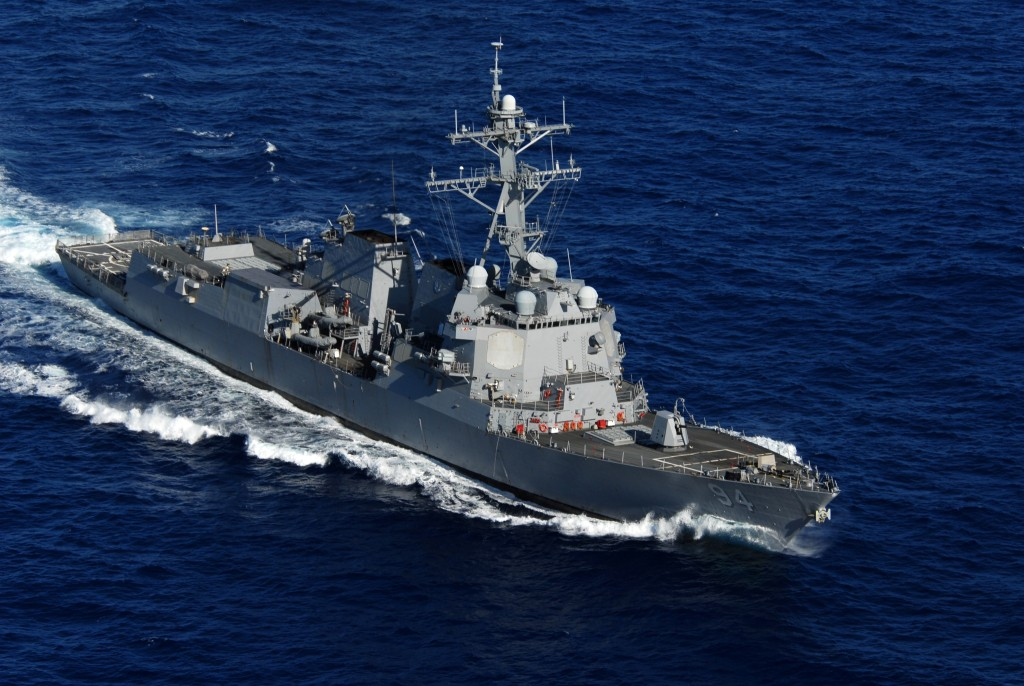 "USS Nitze (DDG-94) – Flight IIA: 5""/62, one 20-mm CIWS variant"