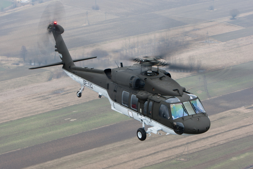 S-70i Black Hawk is an international military version assembled by Sikorsky subsidiary, PZL-Mielec in Poland
