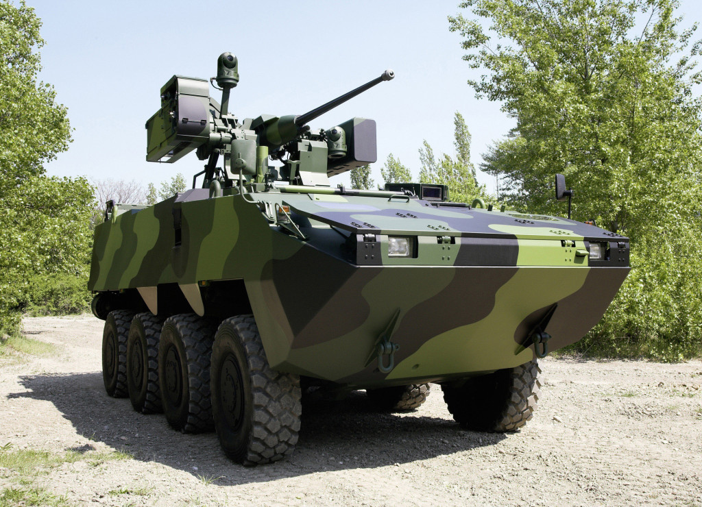 The PANDUR is a family of wheeled armored vehicles offering a common platform for various armament and equipment