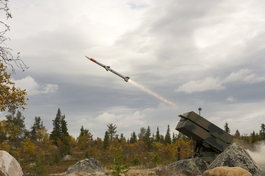 NASAMS is a highly adaptable medium range solution for any operational air defense requirement. The system provides the air defender with a tailorable, state-of-the-art defense system that can maximize their ability to quickly identify, engage and destroy current and evolving enemy aircraft, unmanned aerial vehicle or emerging cruise missile threats