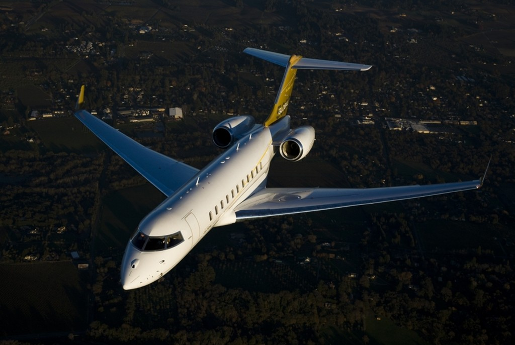 Bombardier Global 5000 aircraft boasts advanced avionics and systems technologies