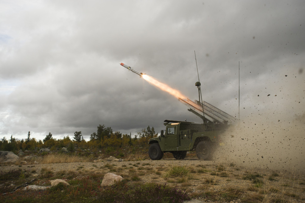 Combined with the NASAMS launcher, AMRAAM-ER will provide a new level of protection