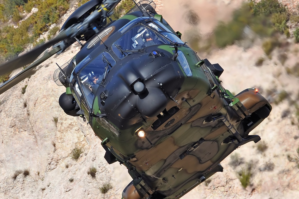 NH90 TTH – a troop transport of up to 20 fully equipped troops