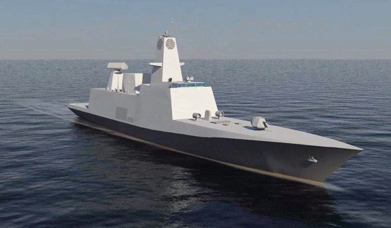 The Project 17A is a follow-on of the Project 17 Shivalik-class frigate for the Indian Navy