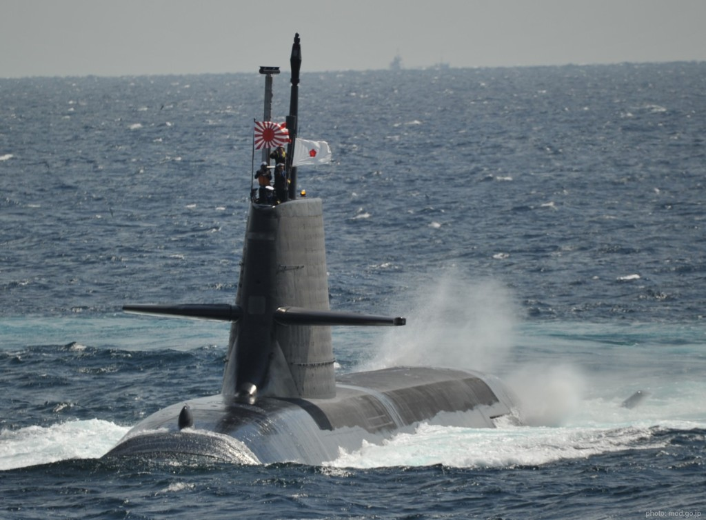 The Soryu-class submarines are diesel-electric submarines that entered service with the Japan Maritime Self-Defense Force in 2009