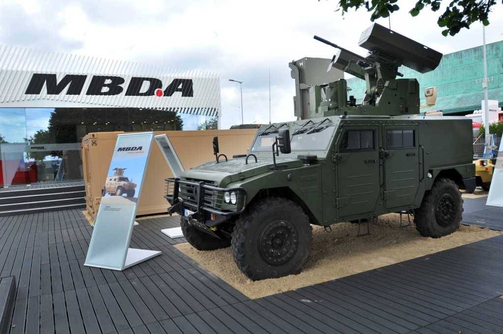 The missile also intended to be vehicle-launched