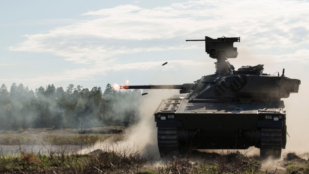 The CV90 platform is engineered to provide optimum mobility and agility