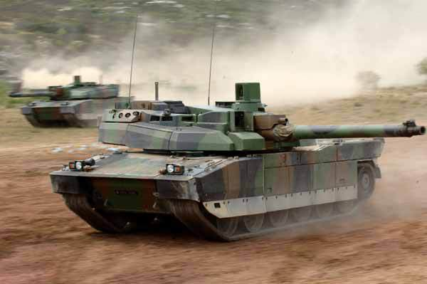The French army's Leclerc main battle tank is one of the most advanced in the world, but despite a previous upgrade now requires a more radical modernization to keep it operationally effective until 2040 (French MoD photo)