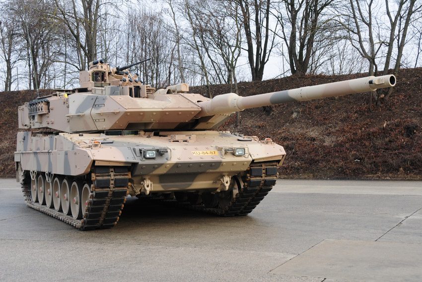 The Leopard 2A7+ was developed and qualified for the new tasks of the German Armed Forces. The system components, optimized to protect the crew, prove their worth, currently being in use in Afghanistan with NATO's Partner Canada