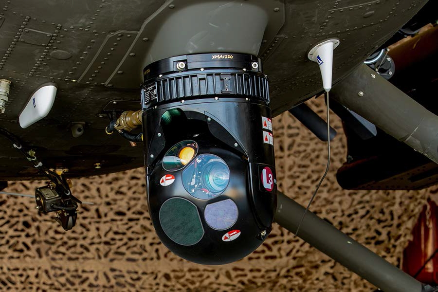 The MX-10D EO/IR sensor