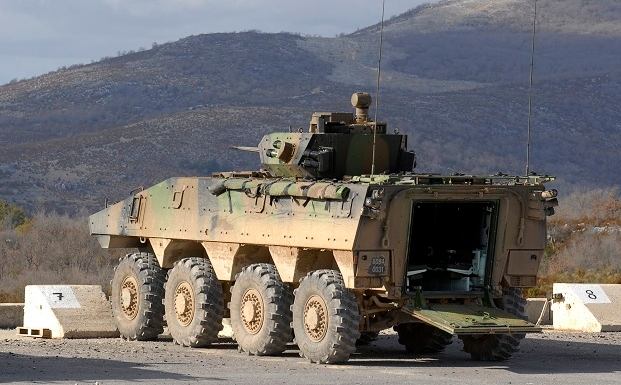 VBCI has an unrivalled overall survivability: ballistic, mines and IED protection, «Soft Kill» systems