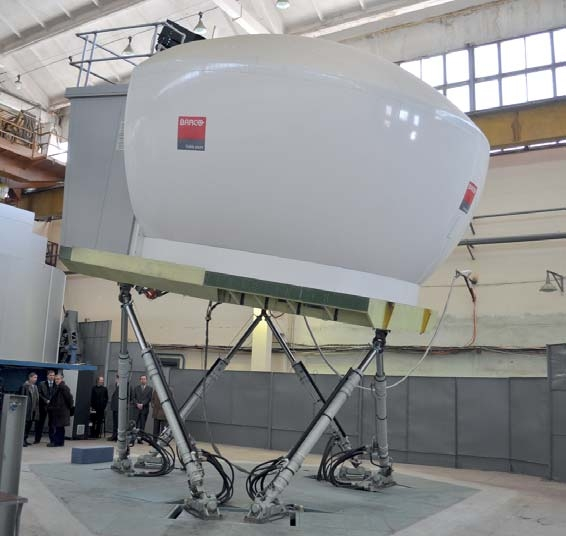 One more important component to influence market attractiveness of the new product is existence of a flight simulator for training flight crews