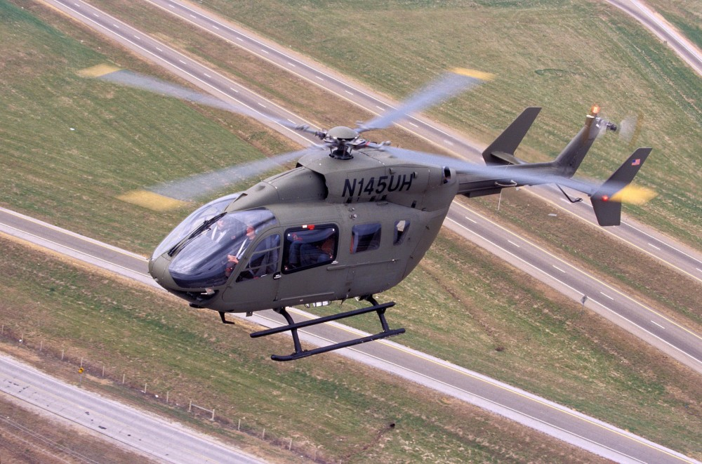Airbus Group delivers first new UH-72A Lakota for Army initial-entry trainer mission