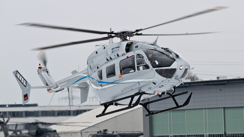 This helicopter's agility and handling qualities are exceptional, even in high winds, while the cockpit design provides an unmatched field of view in all directions