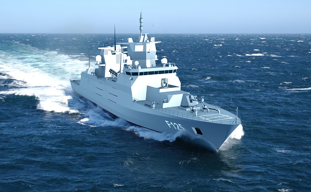 Radar systems will include an EADS TRS-3D air and surface search radar, navigation and fire control radars