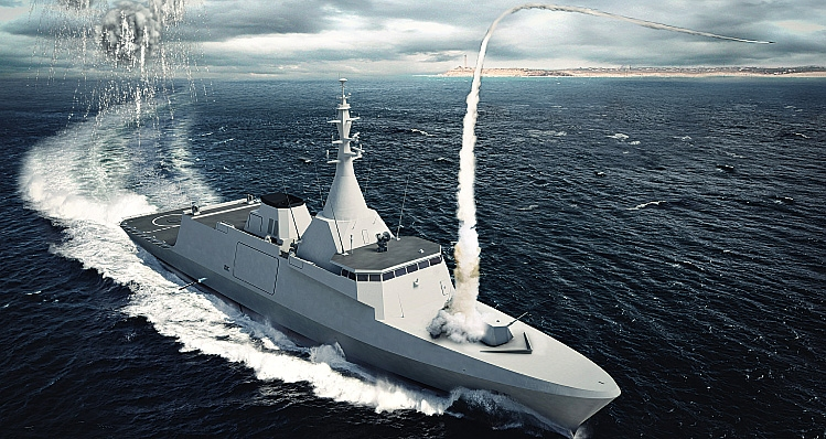 The Gowind 2500 multi-mission corvette is designed for surveillance, surface and subsurface combat, protection and escort naval missions