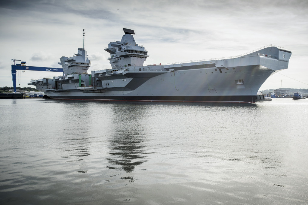The first, HMS Queen Elizabeth, was named on 4 July 2014, with her ship commissioning planned for 2017, and an initial operating capability expected in 2020